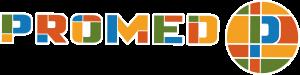 Promed logo contour blanc